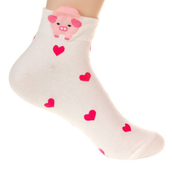 Cute Animal Character Socks