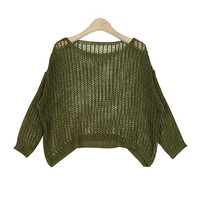 See-Through Mini Knit