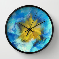 Frantic Wall Clock by Paul Kimble