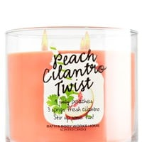 3-Wick Candle Peach Cilantro Twist
