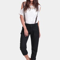 City Gal Suspender Pants