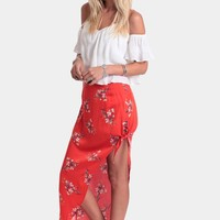Flower Posy Skirt By MINKPINK