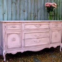 Romatic Paris Apartment Distressed Pink by StiltskinStudios
