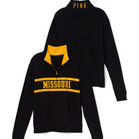 University of Missouri Boyfriend Half Zip - PINK - Victoria's Secret