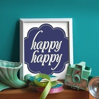 happy happy by farouche on Etsy