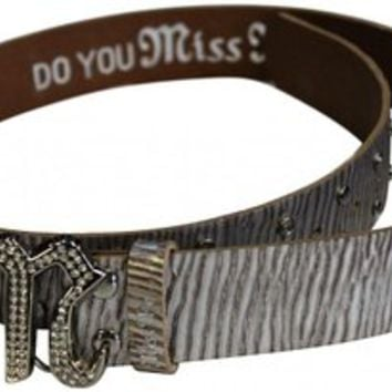 Miss Me Signature Cutout Belt