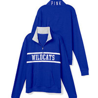 University of Kentucky Boyfriend Half Zip - PINK - Victoria's Secret