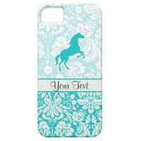 Teal Horse