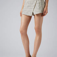 TALL EXCLUSIVE WINDOW PANE CHECK SKORT