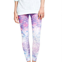 Galactic Print Leggings
