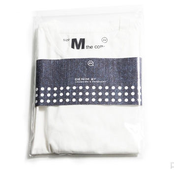 Purist — Two Pack Crew Neck T-Shirt - White