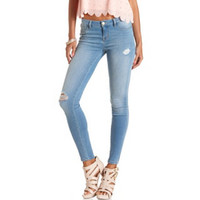 "REFUGE ""SKIN TIGHT LEGGING"" LIGHT WASH JEANS"