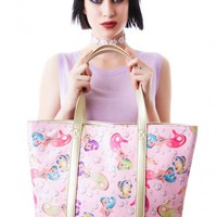 Iron Fist Lollipop Lorelei Tote Bag | Dolls Kill