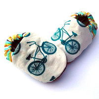 Organic Unisex Cruiser Bike Babe Shoes by GrowingUpWild