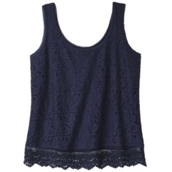 Juniorx27s Lace Tank