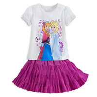 Anna and Elsa Skirt Set - Frozen