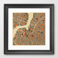 The Brooklyn Grid Art Print