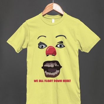 We All Float Down Here! Stephen King's IT - Pennywise The Clown Unisex T Shirt