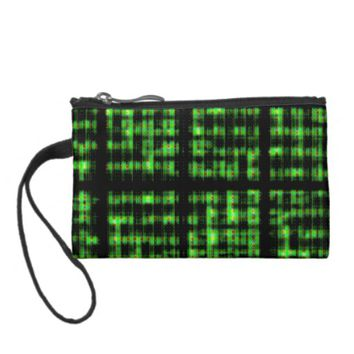 """Circuits"" Abstract Art Purse"