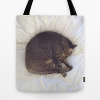 Furball Tote Bag by RichCaspian | Society6