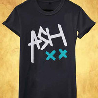 ASH ashton irwin 5SOS 5 second of summer band rock music best seller for T Shirt Mens and T Shirt Girls
