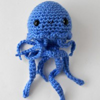 Handmade Gifts | Independent Design | Vintage Goods Mini Jellyfish Amigurumi