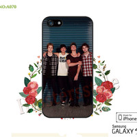 5SOS Phone Cases, iPhone 5/5S/5C Case, iPhone 4/4S Case,  5 seconds of summer Galaxy S3 S4 S5 Note 2 Note 3 Case for iPhone-A070
