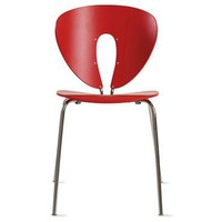 Globus Chair - Wood/Chrome, Ash - Design Within Reach