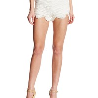 Lovers+Friends Women's Crochet Shorts