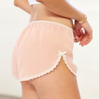 Kimchi Blue Lace-Trim Tap Short - Urban Outfitters