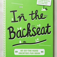 In The Backseat Activity Book