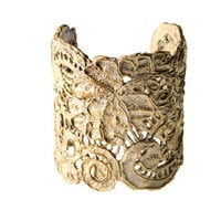 Alkemie Jewelry | Large Antique Lace Cuff