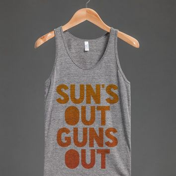 SUNx27S OUT GUNS OUT TANK TOP GRADIENT ID791834