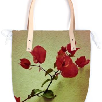 Santa Rita Flower Summer Tote created by Rudimencial Design | Print All Over Me