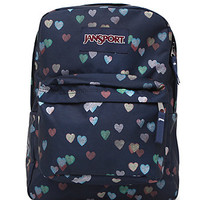JanSport Super Break Multi School Backpack - Womens Backpack - Multi - One