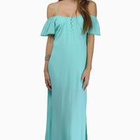 Shoulder Shrug Maxi Dress $47