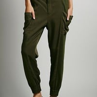 Nicholas K for Free People Womens Hybrid Cargo Pant - Olive,