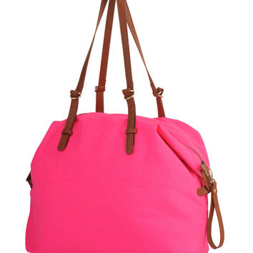 Patch Pocket Duffle Bag