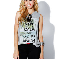 Papaya Clothing Online :: Keep calm hoodie top