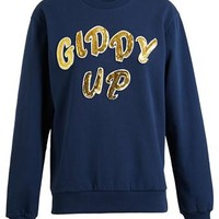 HOUSE OF HOLLAND | 'Giddy Up' Sweatshirt | Browns fashion & designer clothes & clothing