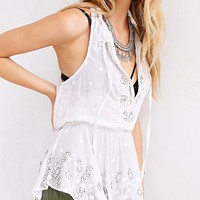 Ecote Filigree Mirror Embellished Cami - Urban Outfitters