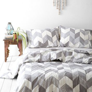 Assembly Home Adele Chevron Duvet Cover  Urban Outfitters