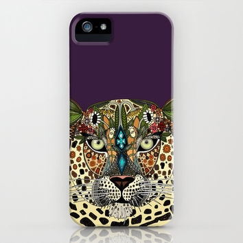 leopard queen iPhone & iPod Case by Sharon Turner | Society6