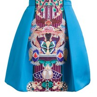 MARY KATRANTZOU | Totem Print Pleated Skirt | Browns fashion & designer clothes & clothing