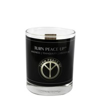 Turn Peace Up Votive Candle, 2.1 Oz