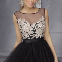 Mori Lee Short Homecoming Dress