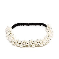 MAISON MICHEL | Pearl Headband | Browns fashion & designer clothes & clothing