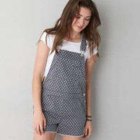 AEO POLKA DOT SHORTALL