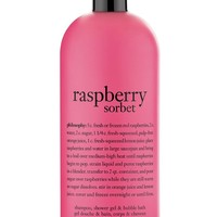 philosophy 'raspberry sorbet' shampoo, shower gel & bubble bath ($35 Value)