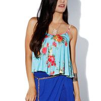 Papaya Clothing Online :: FLORAL CAMI TOP
